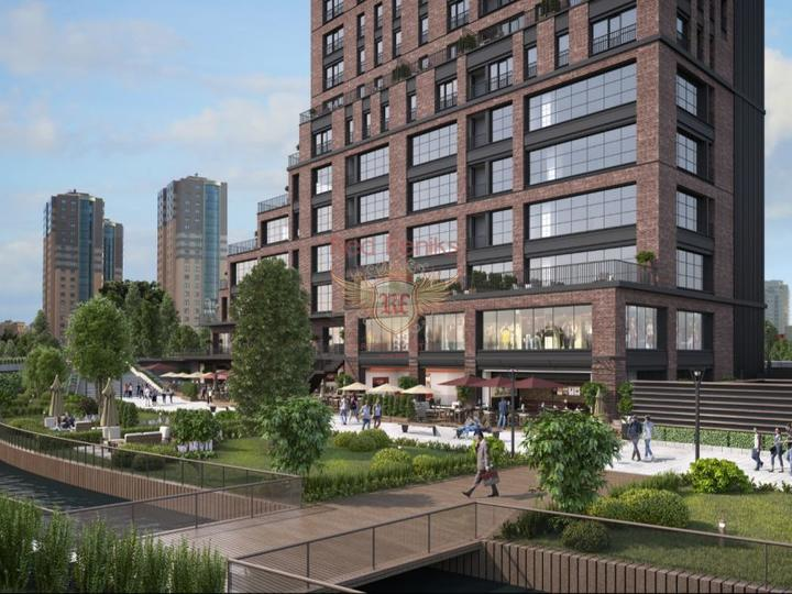 For Sale 2 + 1 apartments in a newly built complex in Fethiye with stunning sea views.