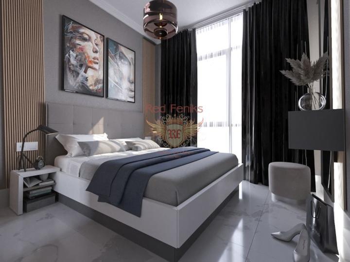 Квартира дуплекс 2+1 с видом на море, Квартира в Анталия Турция