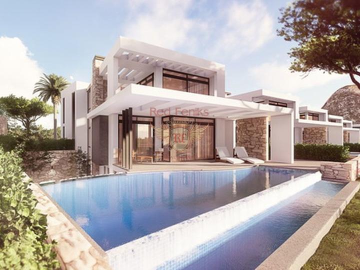 3-х спальные виллы + строительство + центральное отопление + кондиционер + расположение на берегу моря, Вилла в Кирения Северный Кипр
