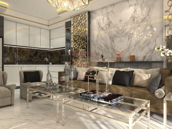 Просторная квартира в Анталии 4+1, Квартира в Анталия Турция