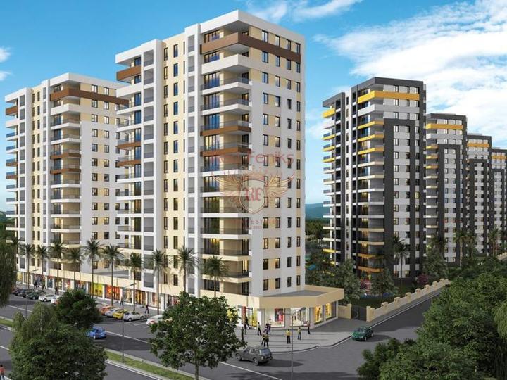 Квартиры в Анталии для инвестиций и роскошной жизни с возможностью получения турецкого гражданства для всей семьи, купить квартиру в Анталия