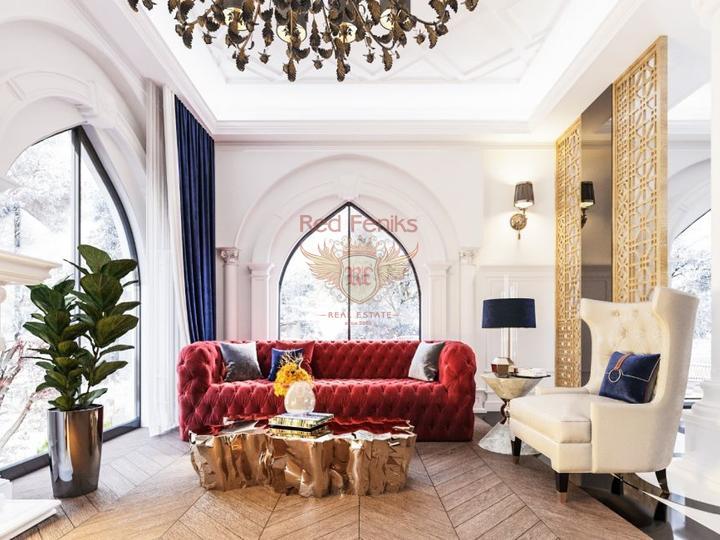 Пяти комнатная вилла на перепродажу + 8m x 5m бассейн + полностью мебелированная, купить дом в Кирения