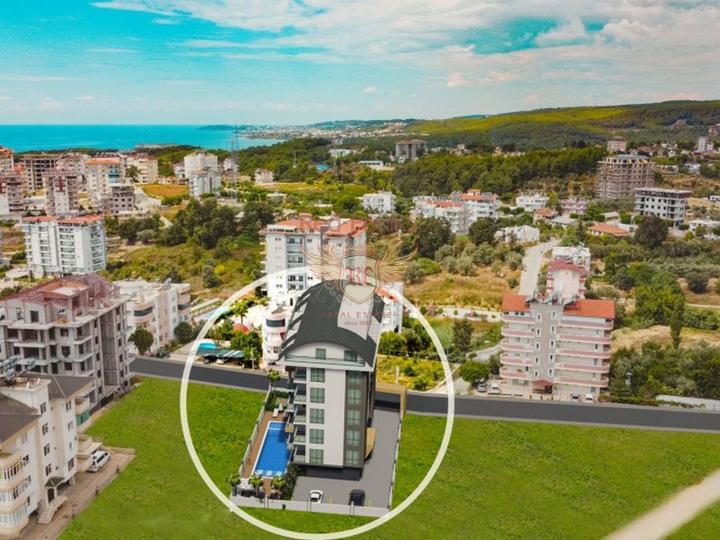 3 + 1 Триплекс Вилла с видом на море в Чалыше-Фетхие, Вилла в Фетхие Турция