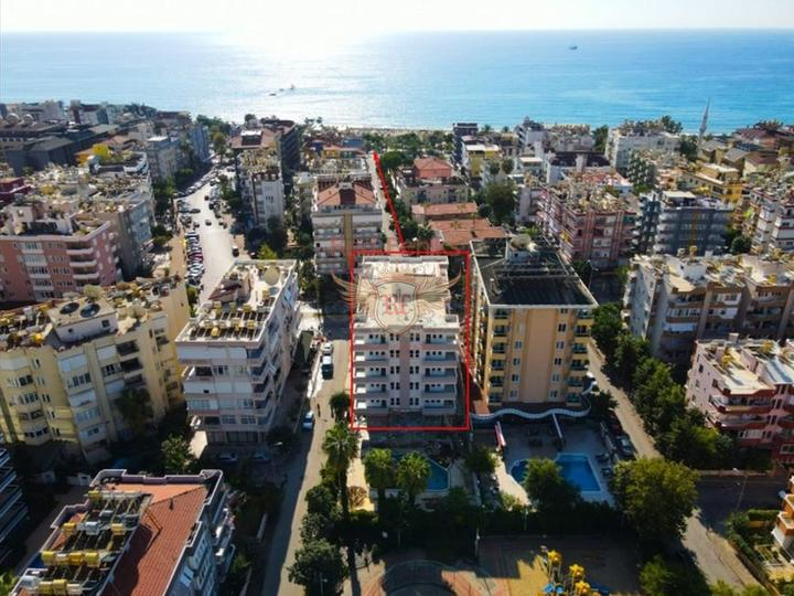 Без % рассрочка, квартиры в Анталии, Квартира в Анталия Турция