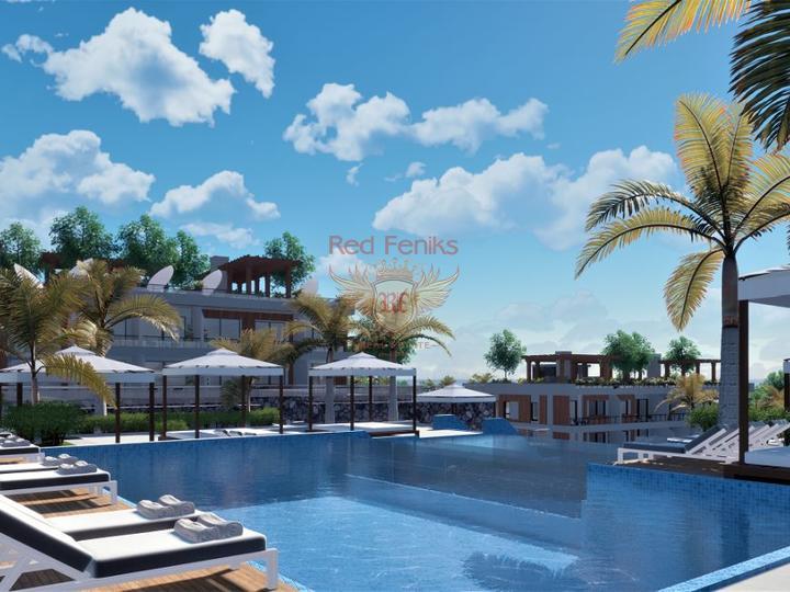 Современные виллы с 4 спальнями, купить виллу в Кирения