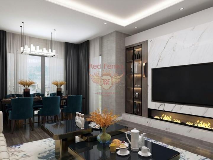 Neues Projekt, 2 + 1 Wohnungen (Maisonetten) in Oba, Alanya, Turkey Immobilien, Immobilien in Turkey, Wohnungen in Alanya