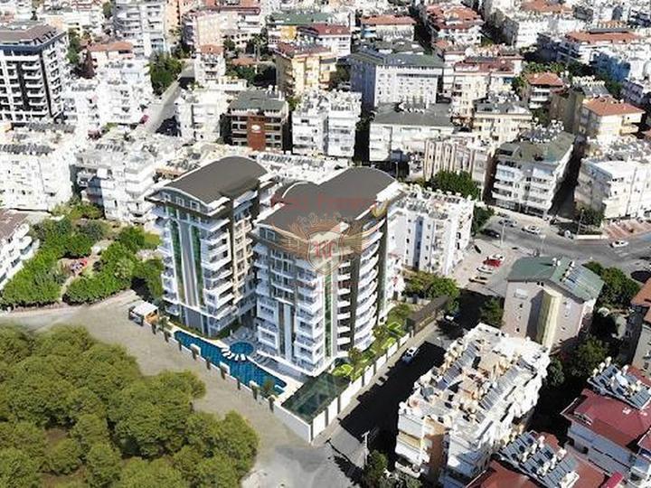 4 этажные виллы с собственным лифтом 6+1 в 4,5 км от пляжа в Коньяалты, Дом в Анталия Турция