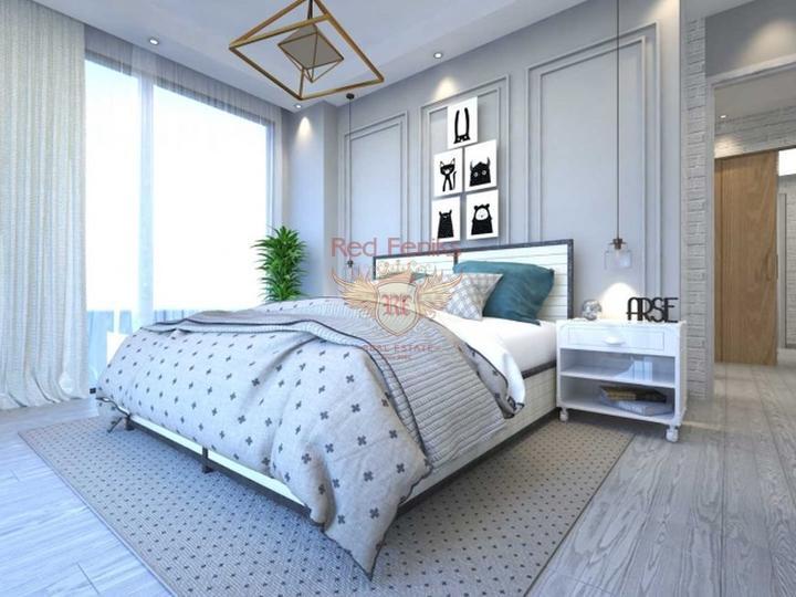 Четырех этажные виллы 6+1 с возможностью получения турецкого гражданства для всех членов семьи, Дом в Анталия Турция