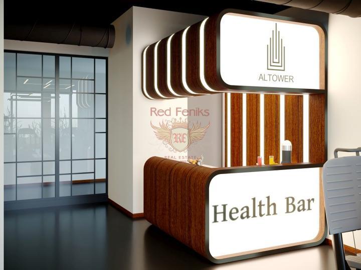 Квартиры с газовым отоплением готовые к проживанию, Квартира в Анталия Турция