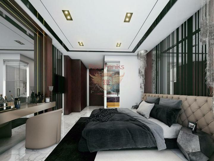 For Sale Duplex apartment 2 + 1 on the first coastline of Fethiye-Calis, apartments for rent in Fethiye buy, apartments for sale in Turkey, flats in Turkey sale