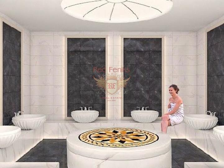 Четырех этажные виллы 6+1 с возможностью получения турецкого гражданства для всех членов семьи, купить дом в Анталия