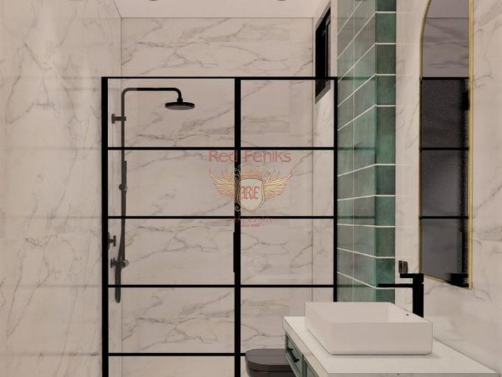 Новый строительный проект в Алании Махмутлар. Квартиры 2+1, купить квартиру в Алания