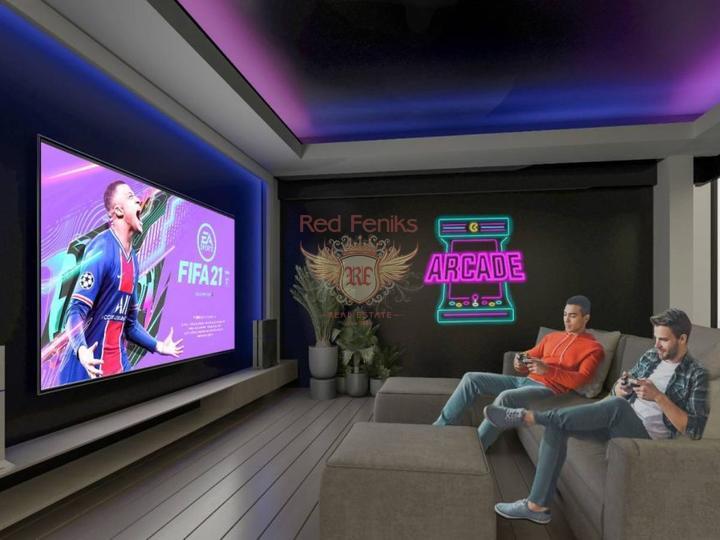 Вилла 4+1 у моря в Чалыше-Фетхие, купить дом в Фетхие