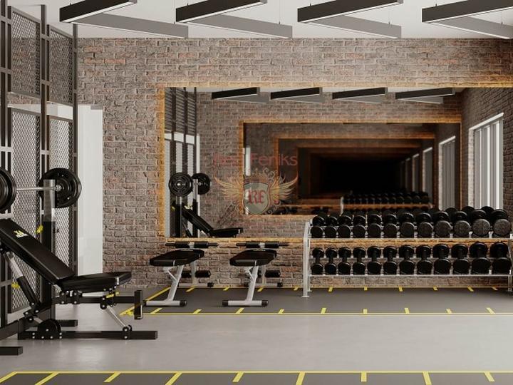 Апартамент 1+1 в элитном комплексе в Алании, купить квартиру в Алания