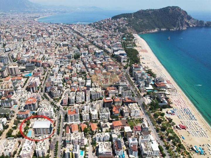 Выгодная инвестиция, квартиры 2+1 в Алании, Квартира в Алания Турция