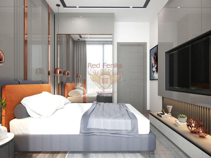 Уютные 2 + 1 квартиры в комплексе Чалыше-Фетхие. Хорошая инвестиция, Квартира в Фетхие Турция
