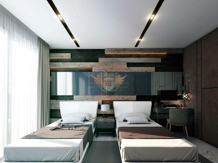 Двухэтажная вилла 3+1 с площадью 186,5 кв.м в коттеджном поселке, Вилла в Анталия Турция