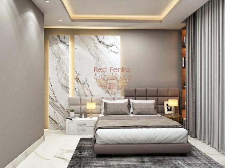 Villa 4 + 1 300m from Calis Fethiye Beach for sale, Turkey real estate, property in Turkey, Фетхие house sale