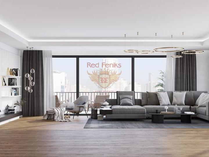 New project, 3 + 1 apartments (duplexes) in Oba, Alanya, apartments for rent in Alanya buy, apartments for sale in Turkey, flats in Turkey sale