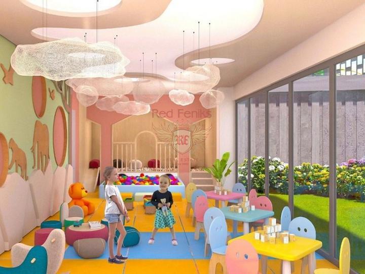 Полностью меблированный Апарт-Отель в 150 м от пляжа в Коньяалты/Анталия, купить коммерческую в Анталия