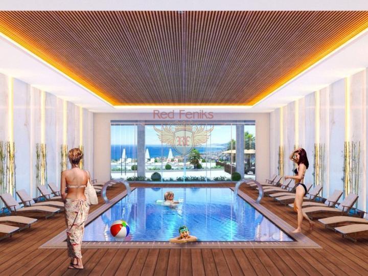 Выгодная инвестиция, квартиры 3+1 в Алании, Квартира в Алания Турция