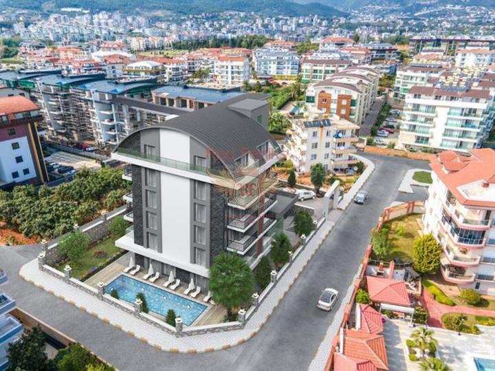 Новые квартиры в элитном комплексе в Алании, Квартира в Алания Турция