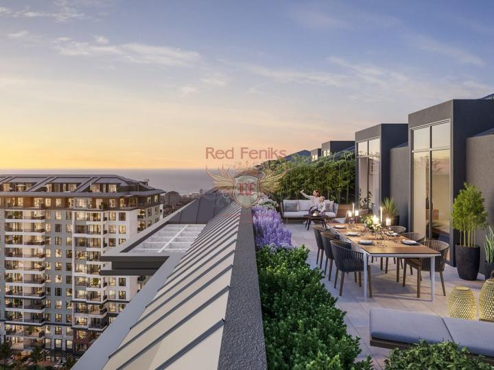 Один из самых амбициозных проектов Анталии, купить квартиру в Анталия