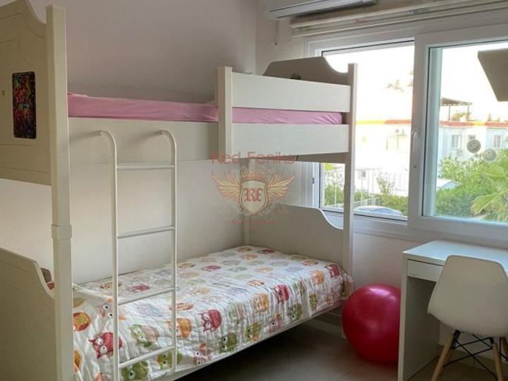 Квартира 3+1 162 кв.м на первой линии, с видом на море и горы, купить квартиру в Анталия