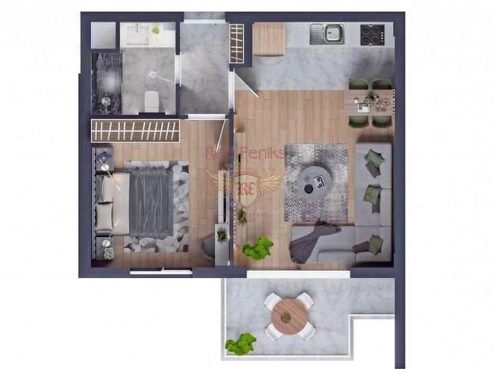Новые квартиры в Алании по минимальной цене, купить квартиру в Алания