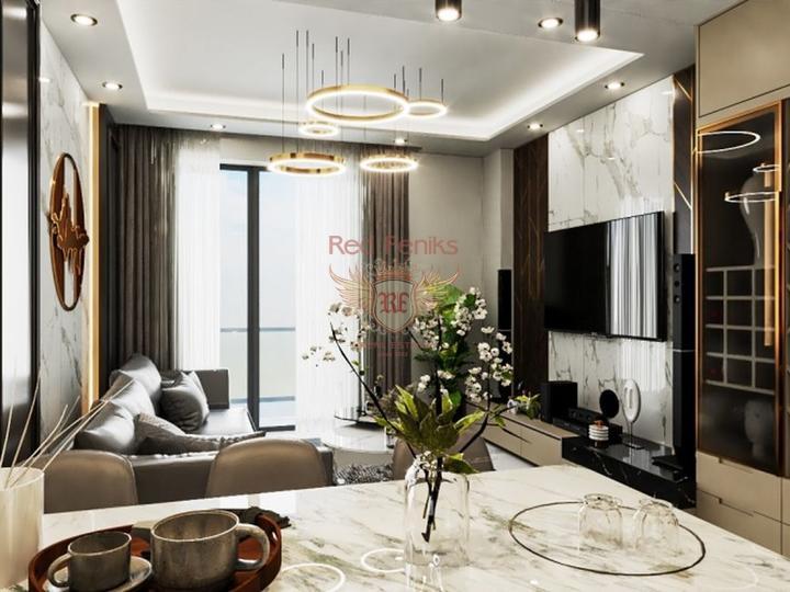 Выгодная инвестиция, квартиры 4+1 в Алании, купить квартиру в Алания
