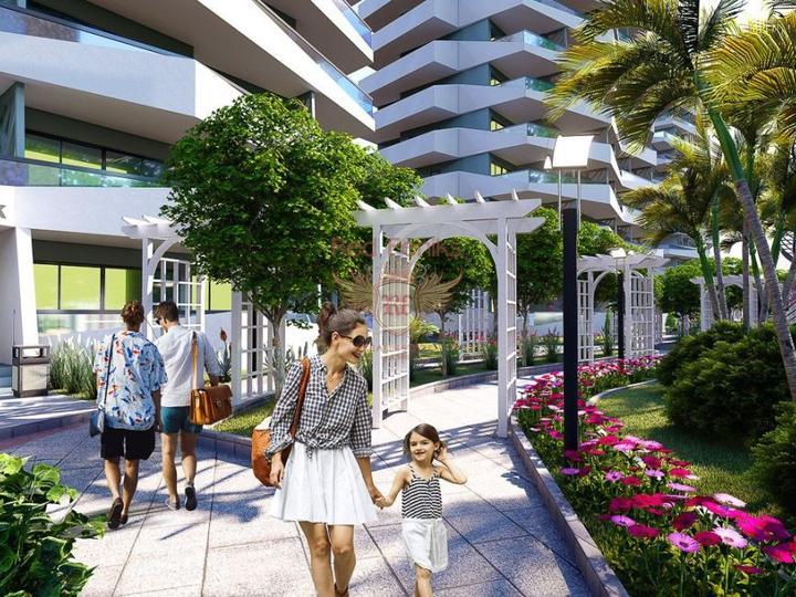 Новые квартиры в Алании по минимальной цене, Квартира в Алания Турция