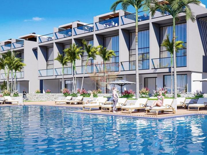 Triplex Villa in Ovagik Fethiye for sale, buy home in Turkey, buy villa in Фетхие, villa near the sea Фетхие