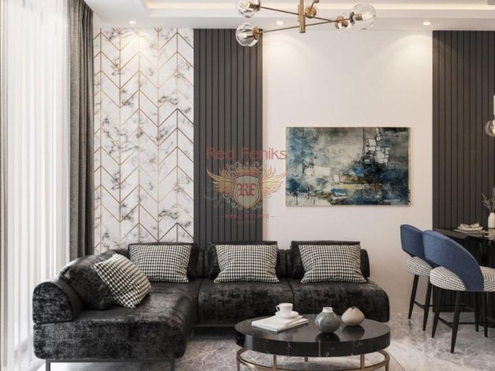 Квартиры 2+1 в новом комплексе, в регионе Анталия, Квартира в Анталия Турция