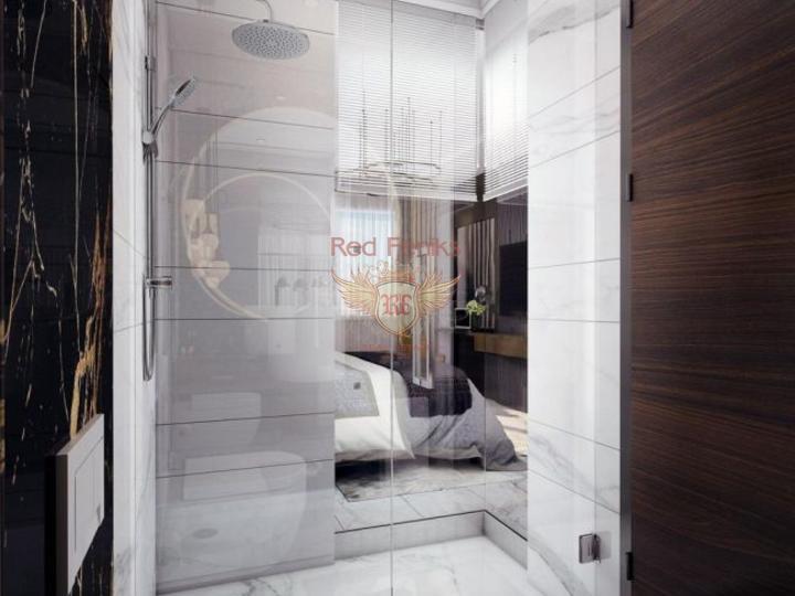 Виллы 5+1 в новом коттеджном поселке в 20 минутах от пляжа, купить дом в Анталия
