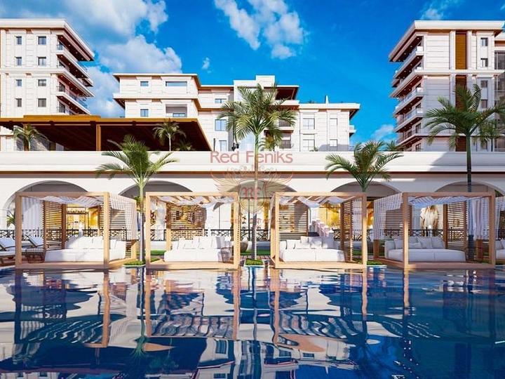 Вилла 5+1 330 кв.м с видом на море в Каше, купить дом в Анталия