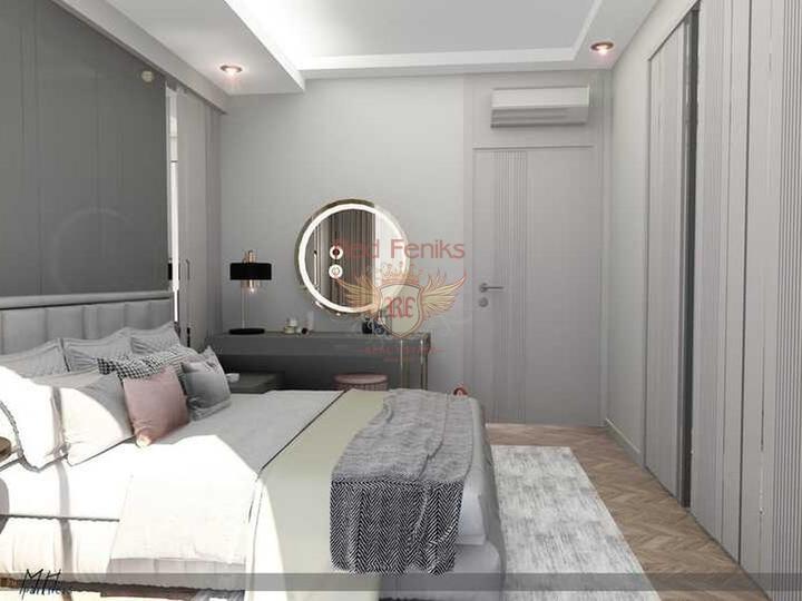 Квартиры с газовым отоплением готовые к проживанию, купить квартиру в Анталия