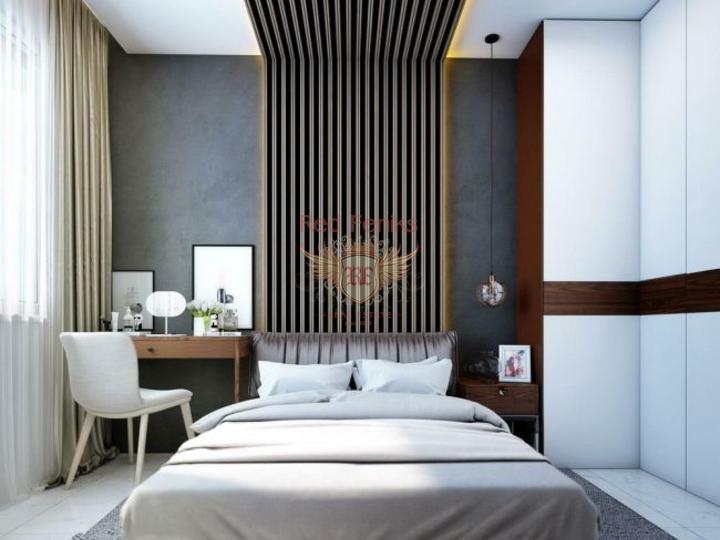 Виллы 5+1 в новом коттеджном поселке в 20 минутах от пляжа, Вилла в Анталия Турция