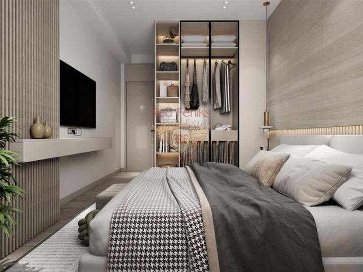 Вилла 5+1 330 кв.м с видом на море в Каше, Вилла в Анталия Турция