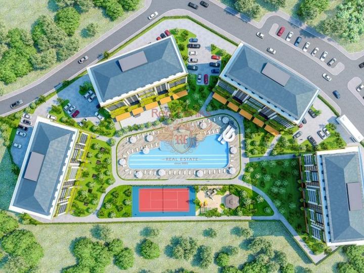 Роскошная 4-х спальная вилла с центральным отоплением, мебелью, бассейном и панорамными видами на Средиземноморье, Вилла в Кирения Северный Кипр