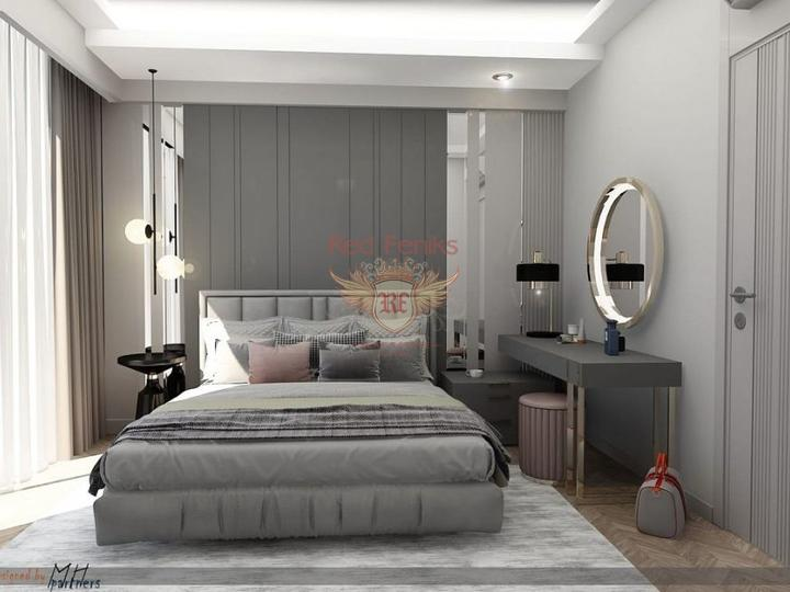 For Sale 2 + 1 Apartments on the first coastline of Fethiye-Calis, Turkey real estate, property in Turkey, flats in Фетхие, apartments in Фетхие