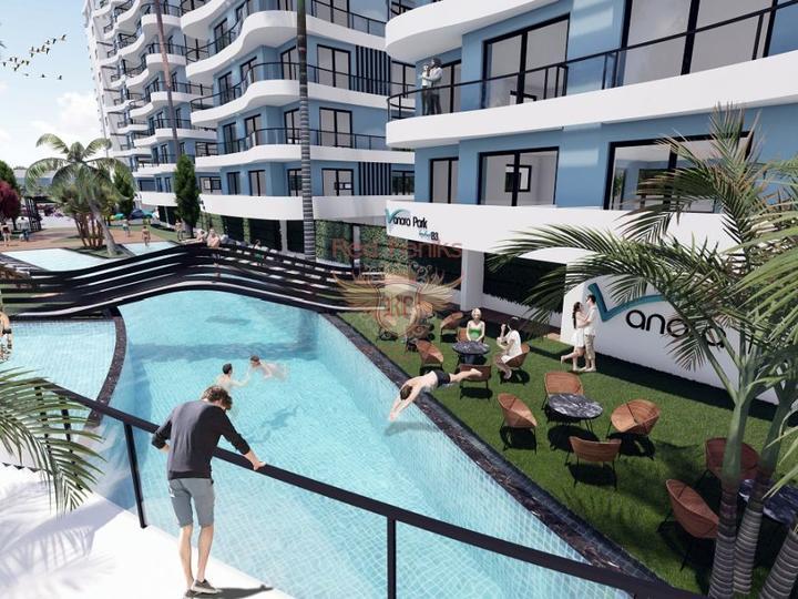 Neues Projekt, 2 + 1 Wohnungen (Maisonetten) in Oba, Alanya, Wohnungen in Turkey kaufen, Wohnungen zur Miete in Alanya kaufen