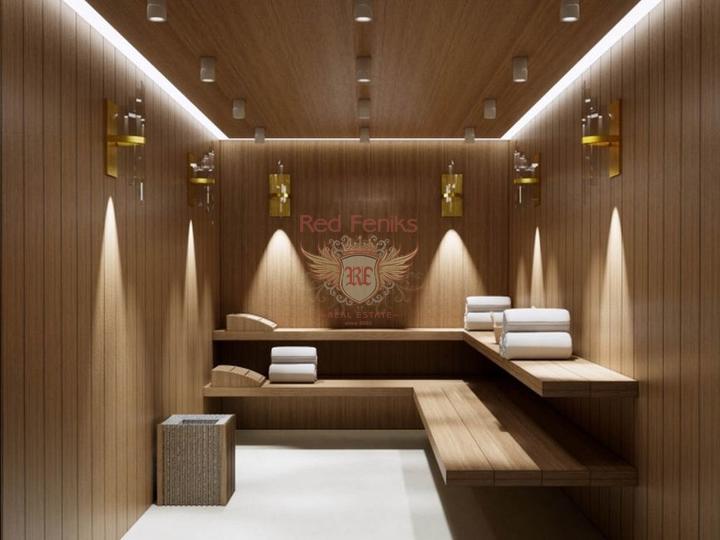 Роскошная 4-х спальная вилла с центральным отоплением, мебелью, бассейном и панорамными видами на Средиземноморье, Дом в Кирения Северный Кипр