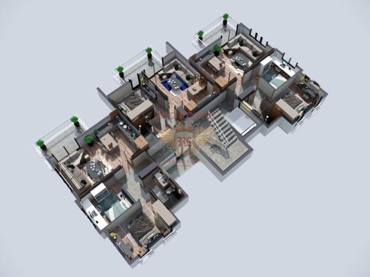 Квартиры в Махмутларе, Алания с рассрочкой. Арендный доход!, купить квартиру в Алания