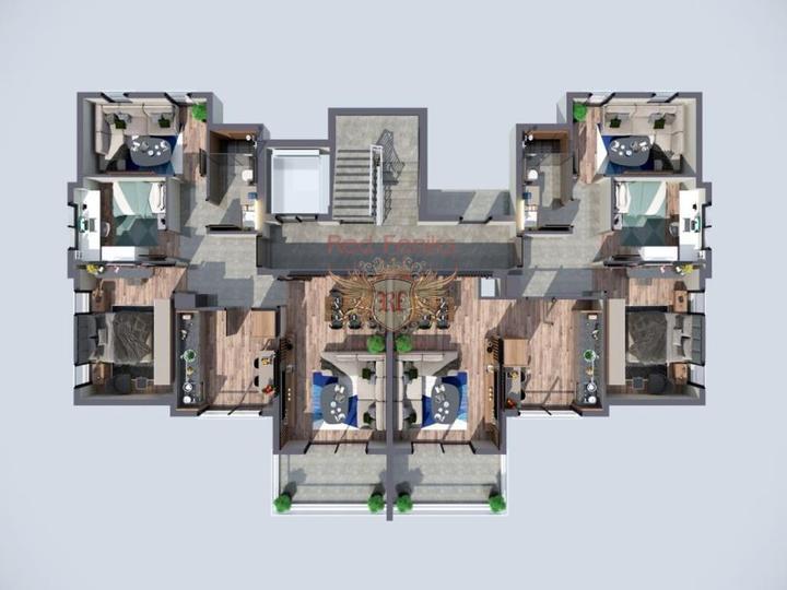 Exklusive Villa in Ovacik Fethiye zu verkaufen. 1.500 m2 Land, Haus in der Nahe des Meeres Turkey, Haus Kaufen in Fethiye