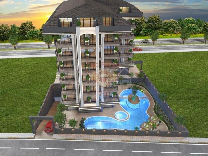 Продается двухуровневая квартира на первом этаже + мансардный этаж 3х1 в районе Оваджык в 10 минутах езды на машине от пляжа Олюдениз.