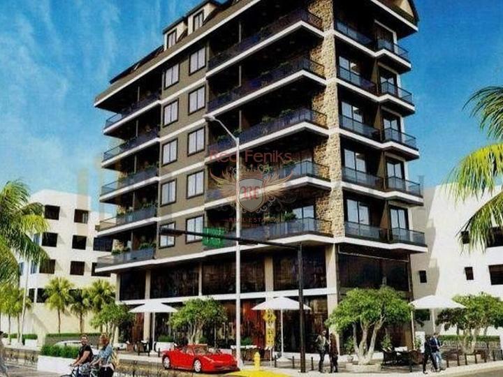 Продажа квартир Махмутларе на стадии котлована.