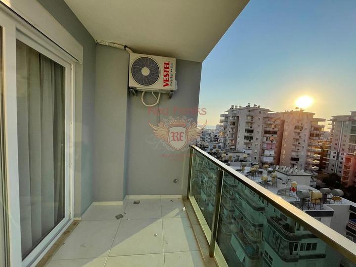 Новая квартира с боковым видом на море До моря: 400 м Рядом все магазины, рынок и т.