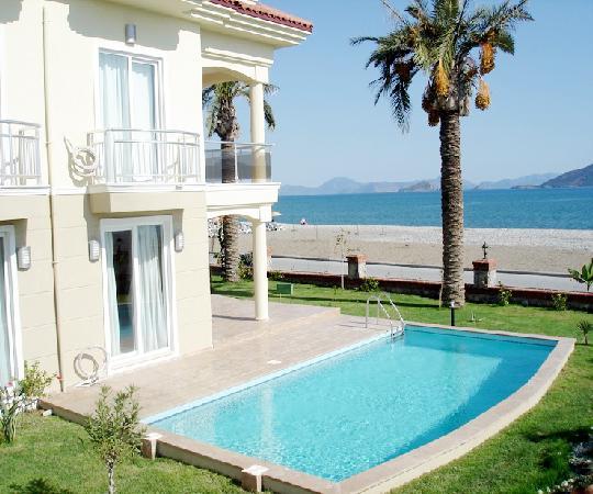дома в турции на берегу моря